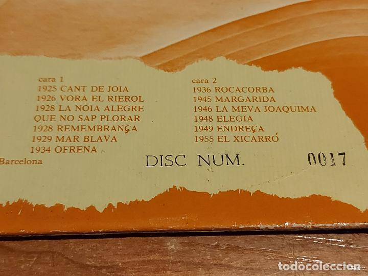 Discos de vinilo: COBLA LA SELVATANA / JOAQUIM SERRA I COROMINES / CLASSICS DE LA SARDANA / LP NUMERADO / MBC. ***/*** - Foto 3 - 225262352