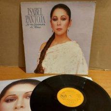 Discos de vinilo: ISABEL PANTOJA / SE ME ENAMORA EL ALMA / LP - RCA-1989 / MBC. ***/*** LETRAS.. Lote 225265440