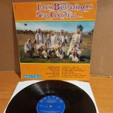 Discos de vinilo: LOS BEDUÍNOS DE CÁDIZ / MISMO TÍTULO / LP - BELTER-1968 / MBC. ***/***. Lote 225267315