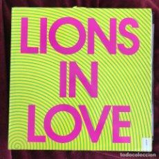 Discos de vinilo: LIONS IN LOVE - HYPNOPARTY - 12'' MAXISINGLE GASA 1991. Lote 225268915