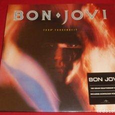Discos de vinilo: BON JOVI 7800º FAHRENHEIT LP PRECINTADO. Lote 289494213