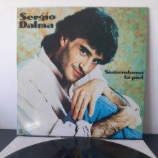 Discos de vinilo: SERGIO DALMA. SINTIENDONOS LA PIEL. HORUS. 1991. ESPAÑA. L3. Lote 225277696