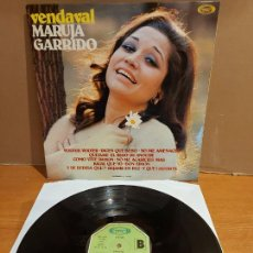 Discos de vinilo: MARUJA GARRIDO / VENDAVAL / LP - MOVIE PLAY-1973 / MBC. ***/***. Lote 225278895