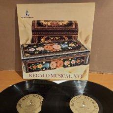 Discos de vinilo: REGALO MUSICAL XVI / EDICIÓN ESPECIAL PARA CONDUMEX / DOBLE LP-GATEFOLD / MBC. ***/***. Lote 225280680