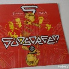 Discos de vinilo: SUNSCREEM – BROKEN ENGLISH, 1992, ,TECHNO. Lote 225287560