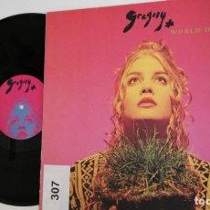 Discos de vinilo: ANTIGUO VINILO / OLD VINYL: GREGORY: WORLD OF DREAMS (LP 1994, ELECTRÓNICA ALEMANIA). Lote 225290352