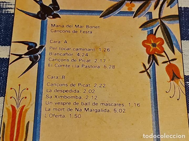 Discos de vinilo: MARIA DEL MAR BONET / CANÇONS DE FESTA / LP-GATEFOLD - ARIOLA-1976 / MBC. ***/*** - Foto 4 - 225291728