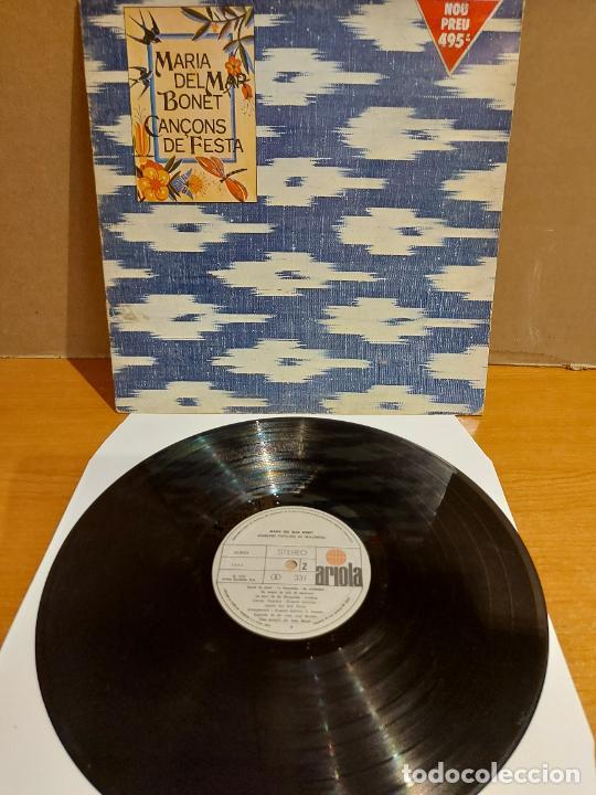MARIA DEL MAR BONET / CANÇONS DE FESTA / LP-GATEFOLD - ARIOLA-1976 / MBC. ***/*** (Música - Discos - LP Vinilo - Cantautores Españoles)