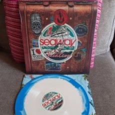 Discos de vinilo: SEAWAY 'VACATION' LP ¡NUEVO! VINILO DE COLOR. Lote 225291793