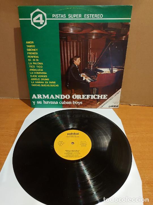 ARMANDO OREFICHE Y SU HAVANA CUBAN BOYS / MISMO TÍTULO / LP - PALOBAL-1981 / MBC. ***/*** (Música - Discos - LP Vinilo - Grupos y Solistas de latinoamérica)