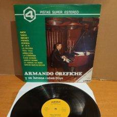 Discos de vinilo: ARMANDO OREFICHE Y SU HAVANA CUBAN BOYS / MISMO TÍTULO / LP - PALOBAL-1981 / MBC. ***/***. Lote 225293133