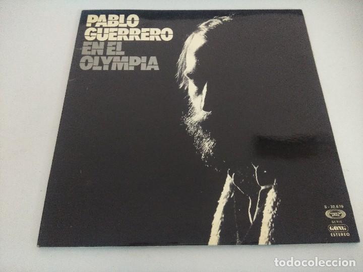 VINILO/PABLO GUERRERO /EN EL OLIMPIA. (Música - Discos - LP Vinilo - Cantautores Españoles)