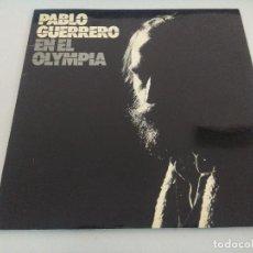 Disques de vinyle: VINILO/PABLO GUERRERO /EN EL OLIMPIA.. Lote 225295957