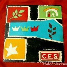Discos de vinilo: CORAL SANT LLUC (EP. 1961) (RARO) DIR. SALVADOR UYA - OBSEQUIO DE CES - SI EL MÓN ÉS PLÈ DE GEBRE. Lote 225296205