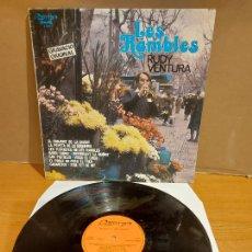 Discos de vinilo: FIRMADO !! RUDY VENTURA / LES RAMBLES / LP - OLYMPO-1979 / MBC. ***/***. Lote 225297075