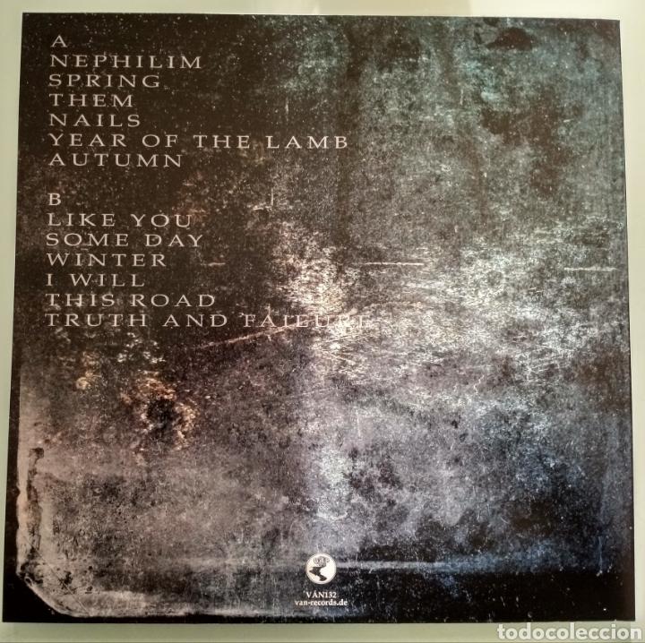 Discos de vinilo: Dark Black - Nails .vinilo Nuevo - Foto 2 - 225299067