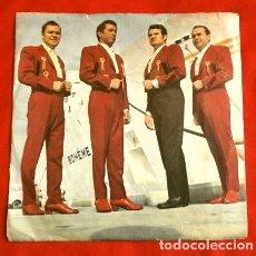 Discos de vinilo: ORQUESTA BELLA VALENCIA (SINGLE RARO) ACTUABA EN BARCO VAPOR FLUVIAL BOHEME - GUANTANAMERA - REBECA. Lote 225302005