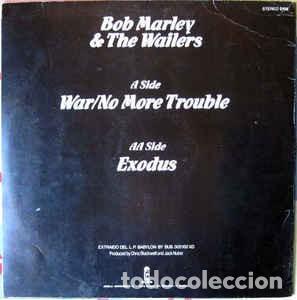 Discos de vinilo: Bob Marley & The Wailers – War / No More Trouble / Exodus - Foto 2 - 225303901