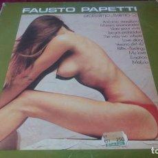 Discos de vinilo: FAUSTO PAPETTI. Lote 225304330