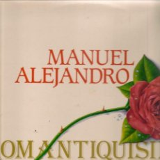 Discos de vinilo: DISCO. LP VINILO. MANUEL ALEJANDRO. ROMANTIQUÍSIMO. DOBLE CARPETA. SÓLO UN DISCO. (ST/DS6). Lote 225309870