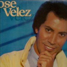 Discos de vinilo: DISCO. LP VINILO. JOSÉ VÉLEZ. ME LO DICE EL CORAZÓN. COLUMBIA. 3271. (ST/DS6). Lote 225310280