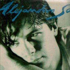Discos de vinilo: DISCO. LP VINILO. ALEJANDRO SANZ. VIVIENDO DE PRISA. WEA. (ST/DS6). Lote 225311555