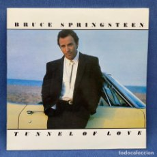 Disques de vinyle: MAXI SINGLE BRUCE SPRINGSTEEN - TUNNEL OF LOVE + ENCARTE - ESPAÑA - AÑO 1987. Lote 225311557