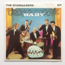 Discos de vinilo: THE STARGAZERS ‎– GROOVE BABY GROOVE UK,1981 EPIC. Lote 225313140