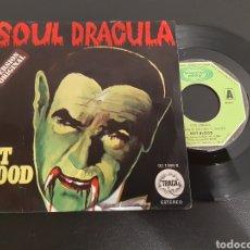 Discos de vinilo: HOT BOOD. SOUL DRACULA. DRACULA GOES DREAMY. 1977. L3. Lote 225316680