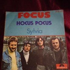 Discos de vinilo: FOCUS. HOCUS POCUS. Lote 225318940