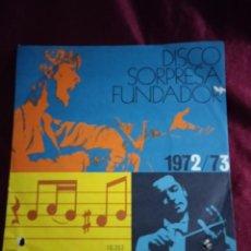 Discos de vinilo: DISCO SORPRESA FUNDADOR. LOS PEKENIKES. Lote 225322563