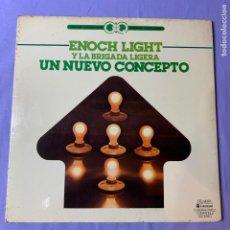 Discos de vinilo: LP ENOCH LIGHT Y LA ABRIGADA LIGERA UN NUEVO CONCEPTO -- 1976 MADRID -- VG+. Lote 225323850