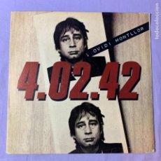 Discos de vinilo: LP OVIDI MONTLLOR -- 4.02.42 --BARCELONA 1980 --VG. Lote 225324880