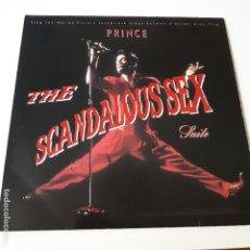 Discos de vinilo: PRINCE- THE SCANDALOUS SEX SUITE - BANDA SONORA - EUROPE MAXI SINGLE 1989- EXC. ESTADO.. Lote 225335170