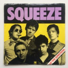 Discos de vinilo: SQUEEZE – UP THE JUNCTION / IT'S SO DIRTY UK,1979. Lote 225351997