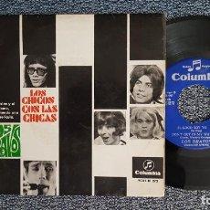 Discos de vinilo: LOS BRAVOS - TE QUIERO ASÍ / EL LOCO SOY YO (MÁS 2 CANCIONES) EDITADO POR COLUMBIA. AÑO 1.967. Lote 225358130