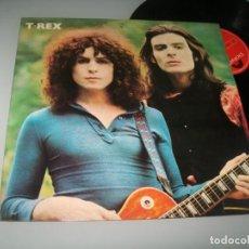 Discos de vinilo: T · REX - TYRANNOSAURUS REX .. LP ORIGINAL DE 1971 - ESTA ES LA 2ª EDICION ..POL. Lote 225371545