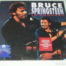 Discos de vinilo: BRUCE SPRINGSTEEN IN CONCERT - MTV UNPLUGGED - EUROPEAN TOUR 1993 - LIMITED EDITION .. 2 LP´S. Lote 225381990