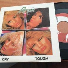 Discos de vinilo: POISON (CRY TOUGH) SINGLE ESPAÑA 1987 (EPI19). Lote 225385648