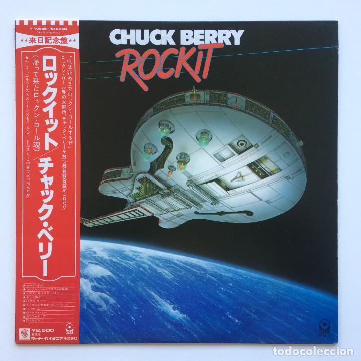 CHUCK BERRY – ROCKIT JAPAN,1979 ATCO RECORDS (Música - Discos - LP Vinilo - Rock & Roll)