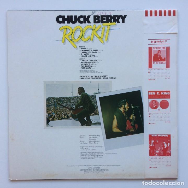 Discos de vinilo: Chuck Berry – Rockit Japan,1979 ATCO Records - Foto 2 - 225385945