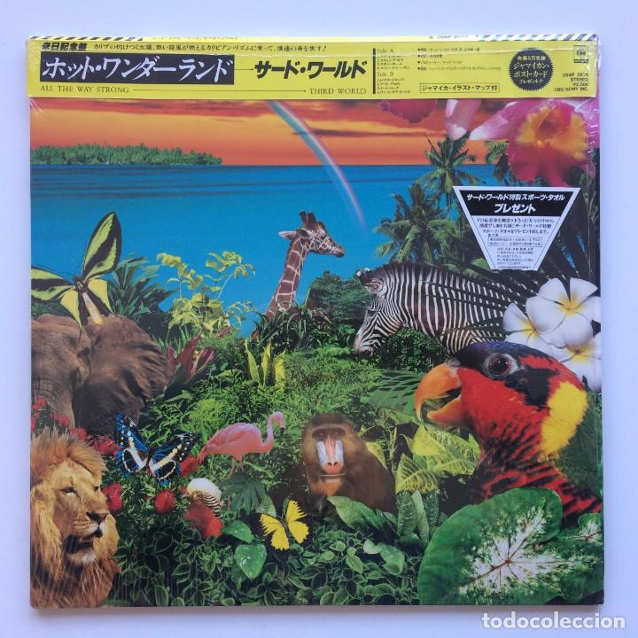 THIRD WORLD ‎– ALL THE WAY STRONG JAPAN,1983 CBS/SONY (Música - Discos - LP Vinilo - Reggae - Ska)