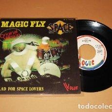 Discos de vinilo: SPACE - MAGIC FLY - SINGLE - 1977 - IMPORT. Lote 225392590
