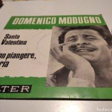 Discos de vinil: DOMENICO MODUGNO. Lote 225396405
