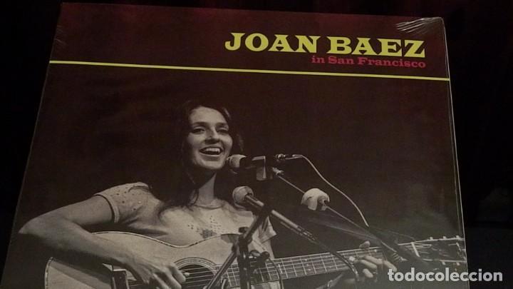 Discos de vinilo: JOAN BAEZ * LP Vinilo * In San Francisco * Edición limtada a 500 copias!! Precintado! - Foto 3 - 225437285