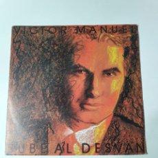 Dischi in vinile: VICTOR MANUEL - SUBE AL DESVAN, PROMO DE UNA SOLA CARA, CBS 1985.. Lote 225453616