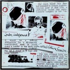Discos de vinilo: LONDON UNDERGROUND (ADRIAN SHERWOOD) - CURRENT AFFAIRS SESSION - LP UK 1983 - ON-U SOUND ON-U LP28M. Lote 225479285