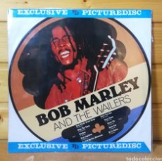 Discos de vinilo: LP ALBUM PICTURE DISC , BOB MARLEY & THE WAILERS , IMPORT.. Lote 225483045
