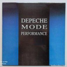 Discos de vinilo: DEPECHE MODE - PERFORMANCE - 2LP. Lote 225489991
