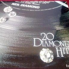 Discos de vinilo: 20 DIAMONDS HIT. Lote 225496850